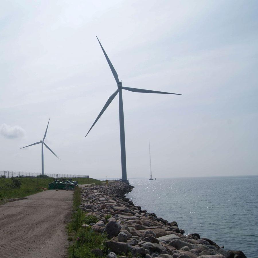 Windkraftturm Fundament in Averdore - Dänemark