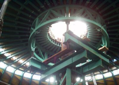 Windkraftturm-Fundament in Emden - Deutschland