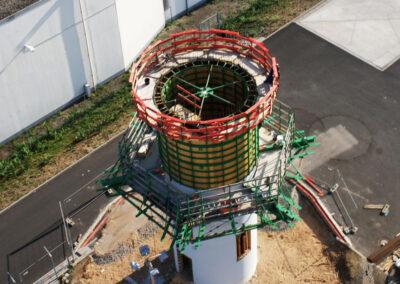 Projekt Radarturm Flughafen Frankfurt - Deutschland