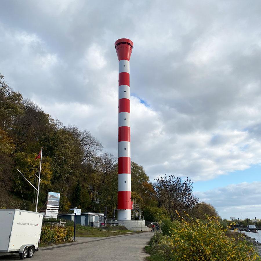 Projekt Fundament Oberfeuer Hamburg Blankenese - Deutschland