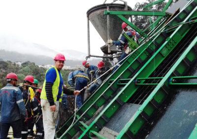 Faulturm Ibera - Ecuador