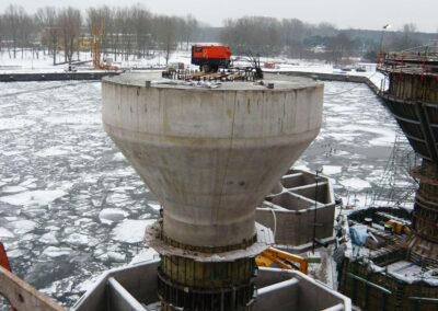 Schwerkraft-Fundamente (GBF) in Rödsand 2 - Dänemark