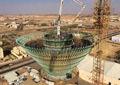 Wasserturm Sakaka - Saudi Arabien