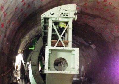 Projekt Stuttgart Stadtbahntunnel U 12 Heilbronnerstraße Aufweitungsschalung