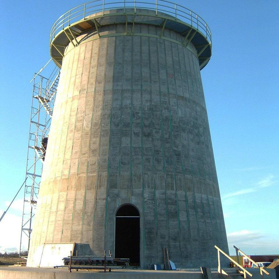 Projekt Windkraftturm mit Fundament in Cuxhaven