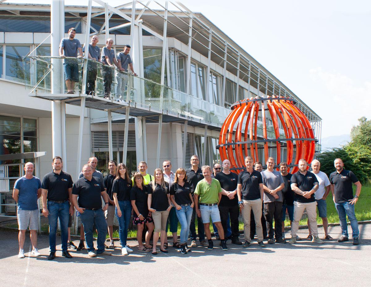 Team von RSB Formwork Technology